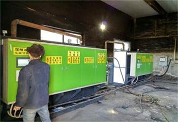河曲山水水泥有限公司700KW电磁蒸汽锅炉取暖项目