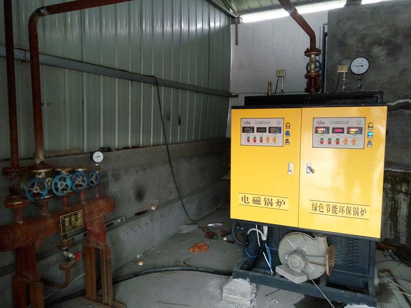 焦作食品厂200KW电磁蒸汽锅炉
