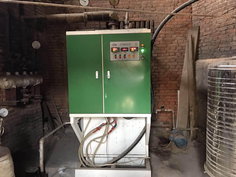 宏达橡塑制品厂100KW电磁蒸汽锅炉